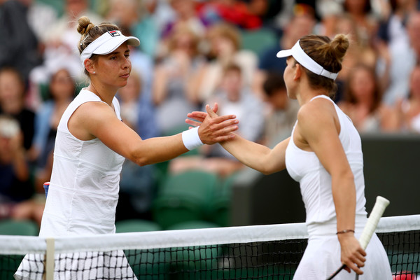 Erakovic bundled out of Wimbledon by Halep