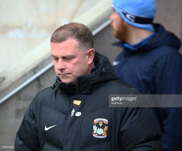 Mark Robins have guided Coventry City to the Third Round of the FA Cup for the first time since 2014. Source | Getty Images.