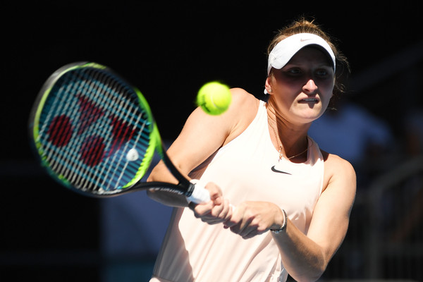Marketa Vondrousova was firing on all cylinders today, earning the biggest win of her career | Photo: Quinn Rooney/Getty Images AsiaPac