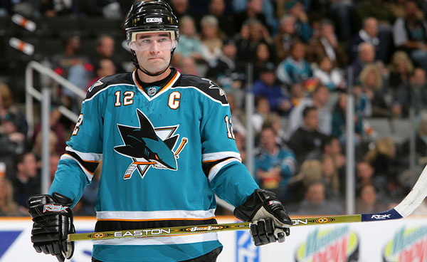 Patrick Marleau has previously served as a captain in the NHL with the San Jose Sharks. Photo: The Hockey Writers