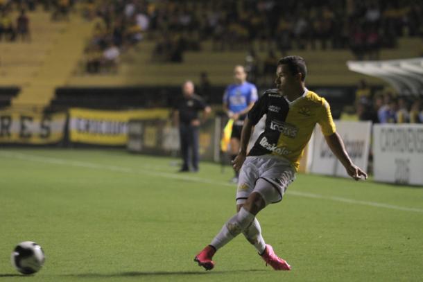 Marlon participou de 16 jogos em 18 do Catarinense - só não atuou enquanto defendia a Seleção Sub-20 (Foto: Fernando Ribeiro/Criciúma EC)