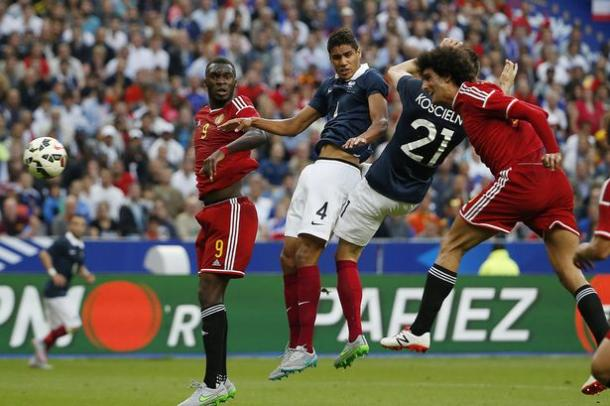 Fellaini scored a good goal against France last year | Photo: Getty Images