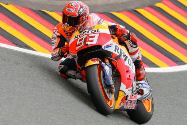 Marc in pole position for German GP - www.motogp.com