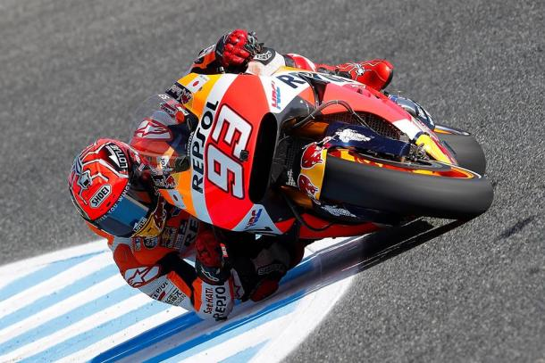 Marquez finished on the podium | Photo: Box Repsol