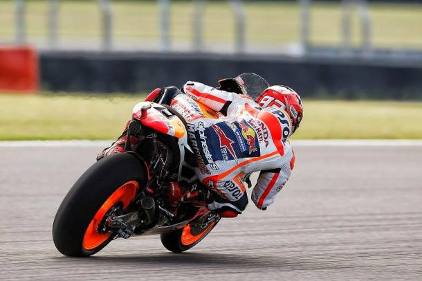Marc Marquez will start on second row | Photo: Box Repsol