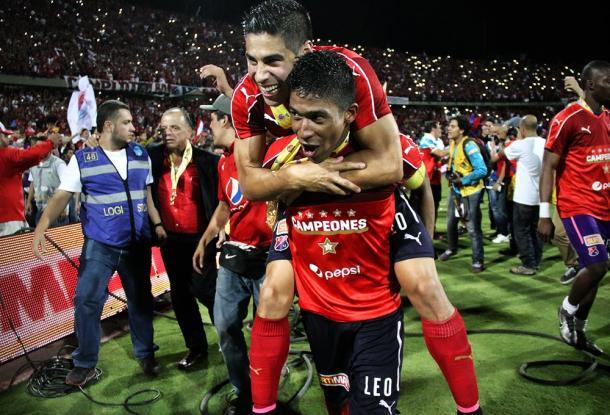 Marrugo fue clave para el último título del DIM | Foto: Futbolete