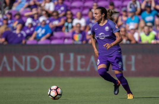 Marta has helped the Pride attack | Source: Joe Petro - Icon Sportswire via Getty Images