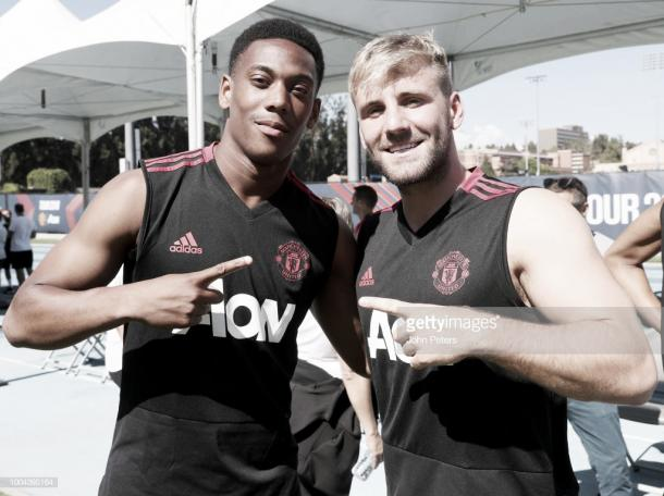 Martial and Shaw are two of the remaining van Gaal signings (Photo: John Peters / Getty Images)