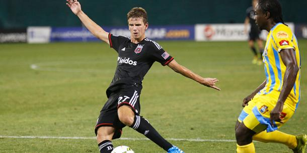 Martin has also appeared for United in CONCACAF Champions League action. (Photo credit: USA Today)