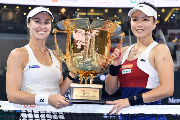 Their last title together was in Beijing, where they triumphed at the China Open | Photo: Etienne Oliveau/Getty Images AsiaPac