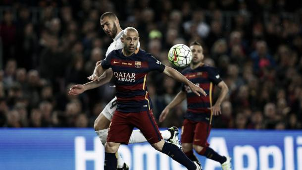 Above: Barcelona's Javier Mascherano has also been linked with a move to Italian club Juventus | Photo: Sky Sports