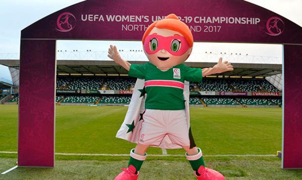 Mascota de la competición | Foto: UEFA