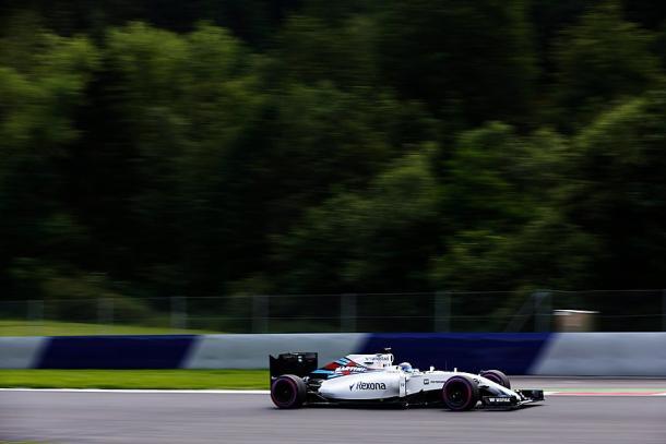 Felipe Massa foi o melhor brasileiro, mas ficou abaixo do esperado e larga em 10º (Foto: Divulgação/Williams)