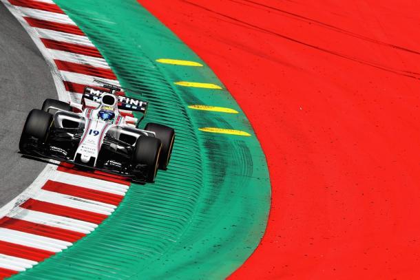 Massa foi o único no grid a largar com os pneus macios e chegou na zona de pontuação (Foto: Divulgação/Williams Racing)