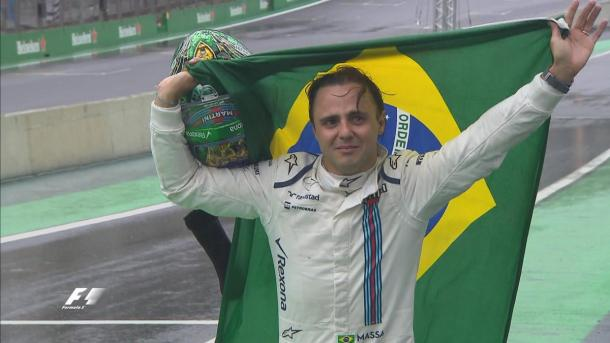 O grande momento da prova foi a despedida de Felipe Massa (Foto: Divulgação/F1)