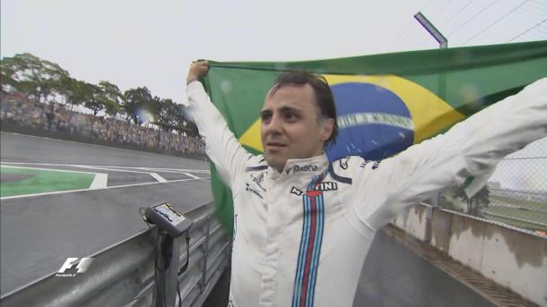 A despedida de Massa do GP do Brasil emocionou a todos os presentes (Foto: Divulgação/F1)