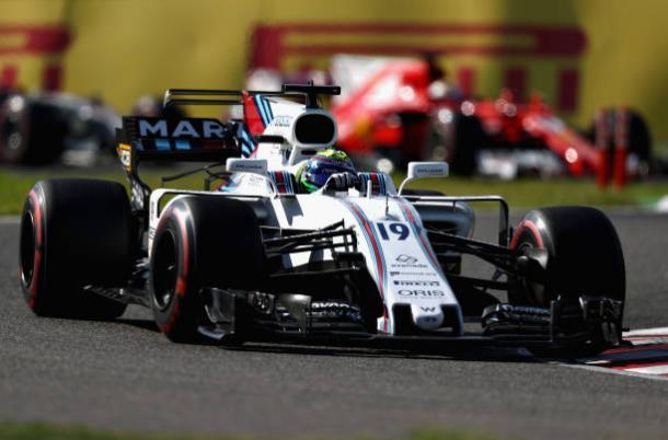 Massa se envolveu em disputa com Magnussen no fim e foi o 10º (Foto: Lars Baron/Getty Images)