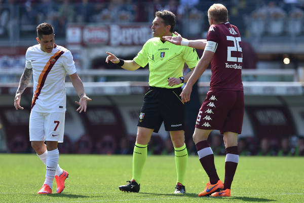 Irrati durante un Torino-Roma la pasada temporada. / Foto: zimbio.com