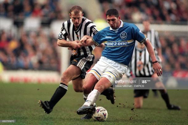 Materazzi en el Everton. Gettyimages