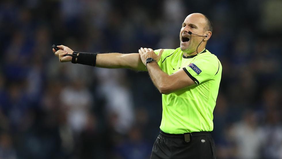 Antonio Mateu Lahoz, árbitro del encuentro / Foto: Getty