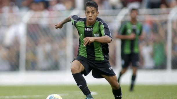 Matheusinho, meia-atacante do América (Foto: Divulgação/América-MG)