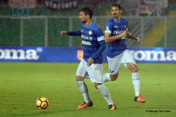 Ryder Matos. Fonte: www.facebook.com/UdineseCalcio1896