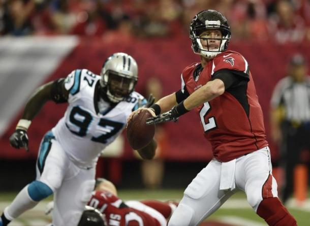 Matt Ryan will look to break an NFL record against the San Diego Chargers | Source: AP