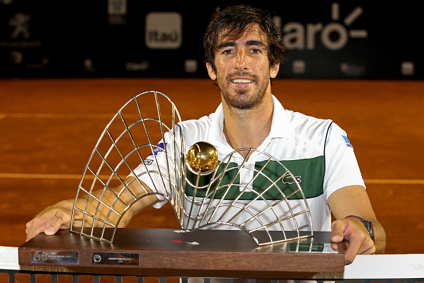 Cuevas won the title at the Rio Open (Getty/Matthew Stockman)