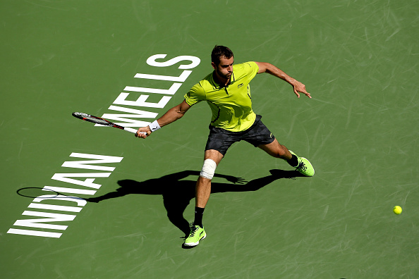 Marin Cilic hasn't been in action since the US hard court swing (Getty/Matthew Stockman)