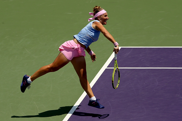 Kuznetsova will have to serve well in this difficult encounter (Getty/Matthew Stockman)