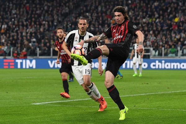 Romagnoli en un partido de la pasada temporada // Fuente: Getty Images