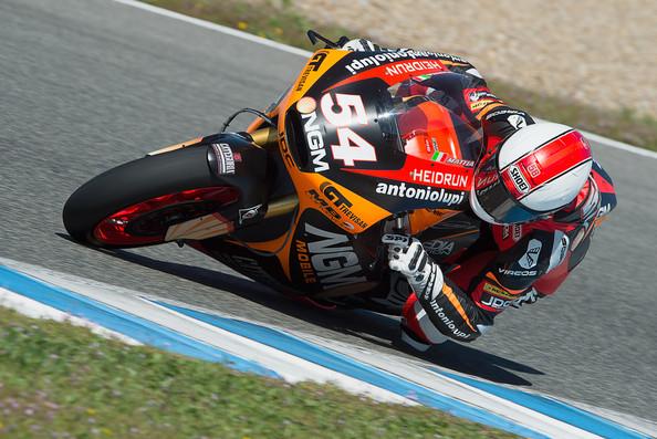 Mattia Pasini en Moto2. Foto: Zimbio