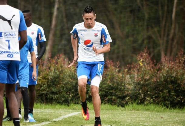 Mauricio Gómez en su nuevo equipo (DIM) | Foto: Futbolete.com