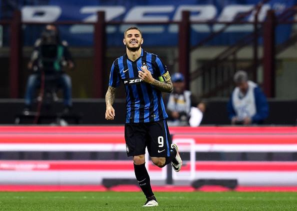 Mauro Icardo celebrates for Inter Milan | Photo: Claudio Villa/Inter Milan FC