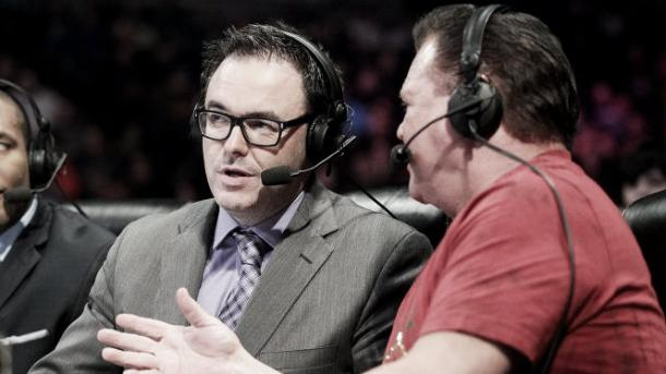 Mauro Ranello said he would like to continue his role with Jerry Lawler and Byron Saxton (image:hiddenremote.com)