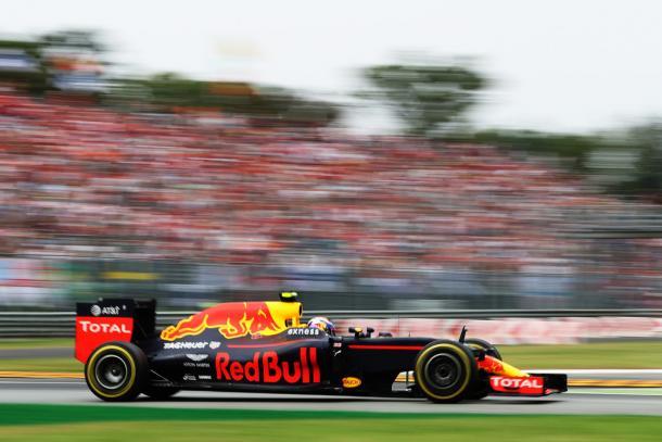 Max Verstappen durante el GP de Italia   Fuente: Getty Images