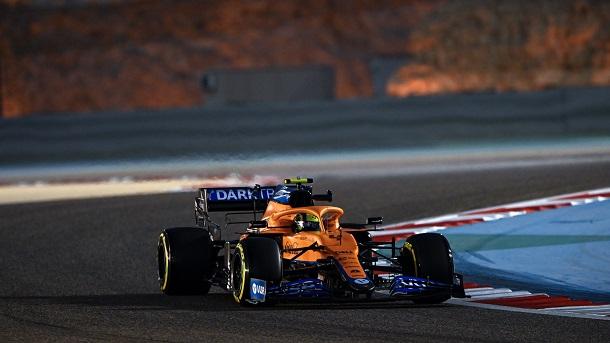 Lando Norris en acción. Fuente: McLaren