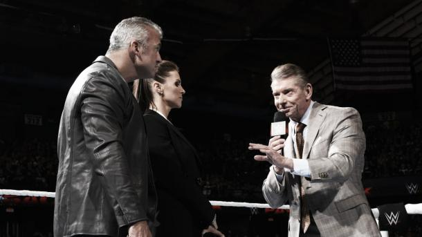 Vince McMahon wants to see blood. Photo- WWE.com