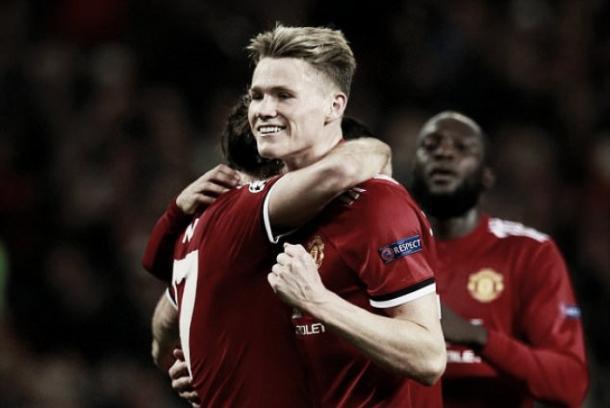 Scott McTominay puede ser la joven promesa del equipo | Fuente: Manchester United.