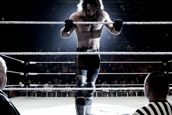 Rollins was injured in Dublin. Photo- WhatCulture.com