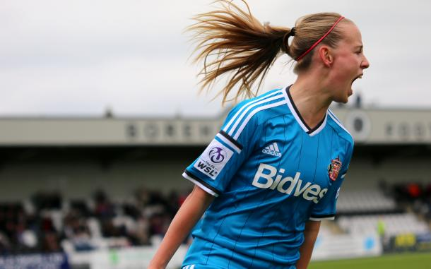 Mead was on fire last season and will hope to continue her form in 2016. | Photo: Sunderland AFC