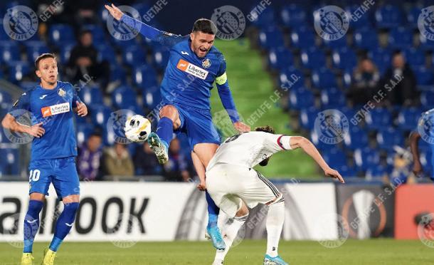 El Getafe en Europa League. Fuente: Getafe C.F.
