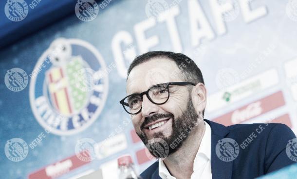 José Bordalás, en rueda de prensa | Foto: Getafe CF