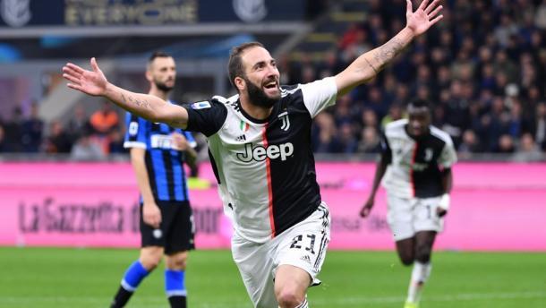 Higuain le dio el triunfo a la Juventus Foto: Mega