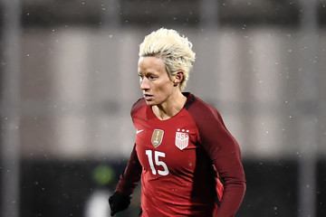 Megan Rapinoe is in contention to start against Spain | Source: Jamie Sabau/Getty Images North America