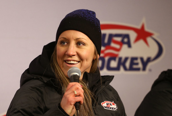 Duggan will captain a very experienced US squad that has come away with a medal in every Olympics since women's hockey was introduced in 1998/Photo: Mike Stobe/NHLI