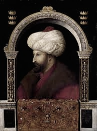 Mehed II sultán otomano, Foto: retrato en la Galería Uffici