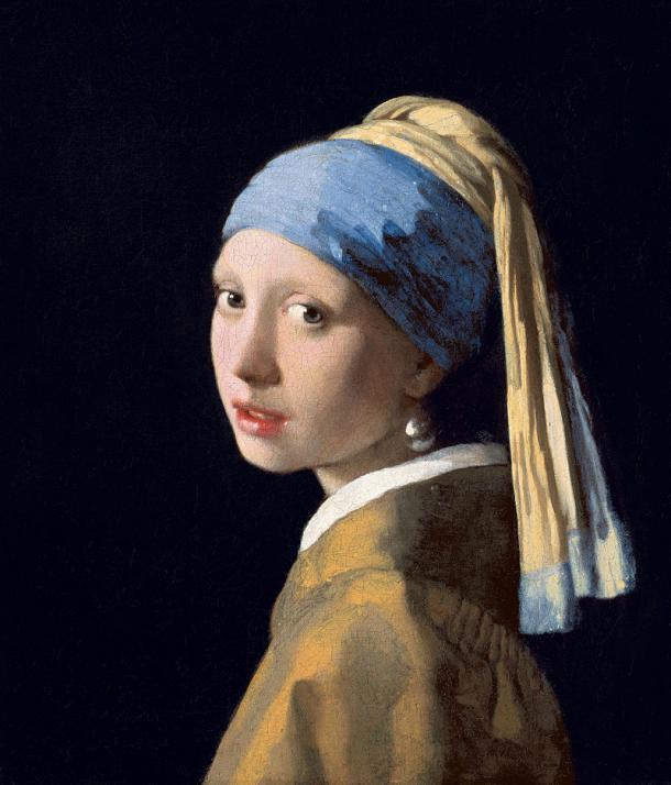 """La joven de la perla"" (c.1665)"