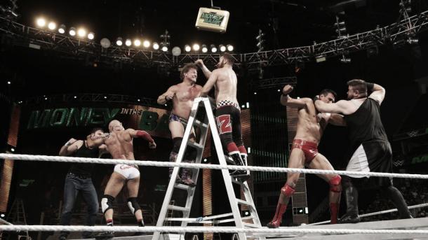 Lucha por el maletín Foto: WWE.com