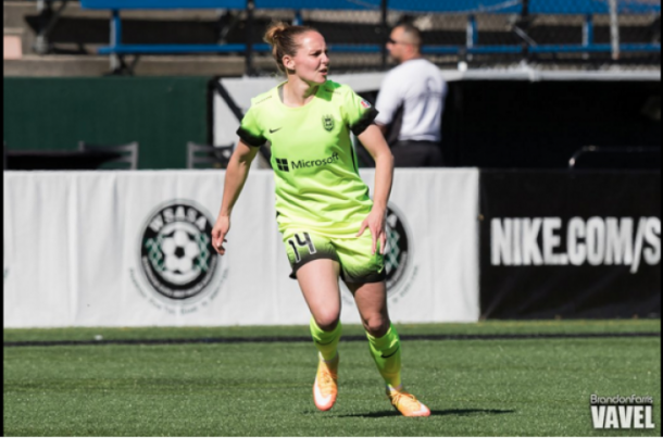 Manon Melis had a solid year for the Seattle Reign as she led the team in goals scored with seven | Source: Brandon Farris - VAVEL USA